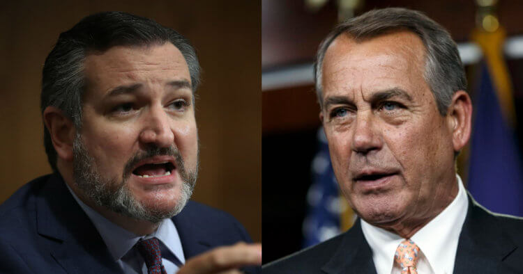 Ted Cruz Fires Back After Former Speaker Goes 'Off-Script' in Audiobook Memoir: 'Ted Cruz, Go F**k Yourself'