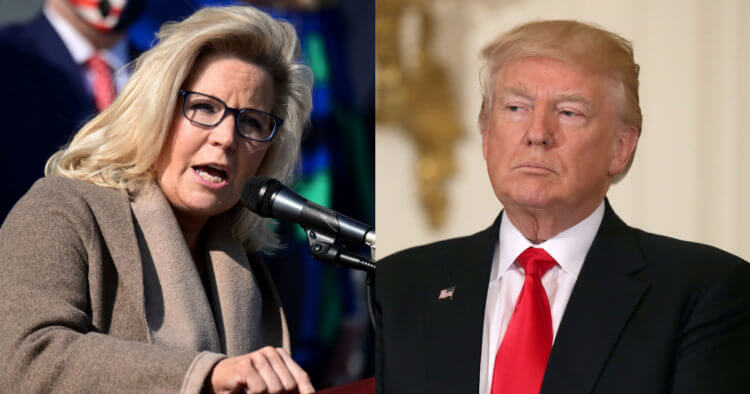 Liz Cheney Launches Another Attack on Trump as Calls Grow to Remove Her From GOP Leadership