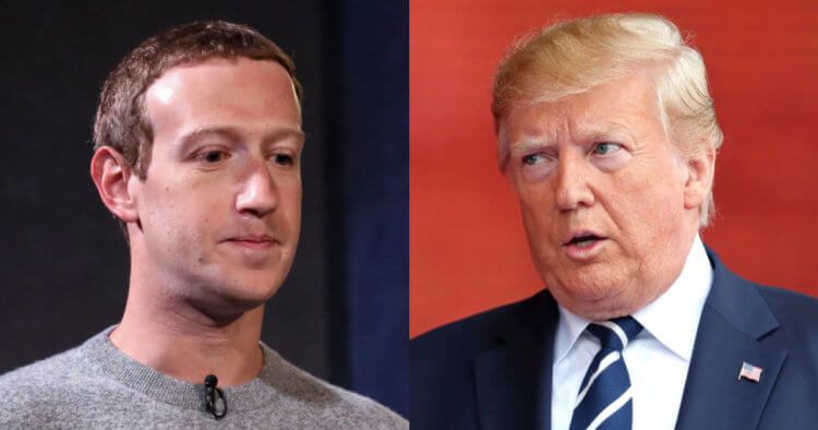 Facebook Gives Trump Two Year Suspension. Trump Responds.