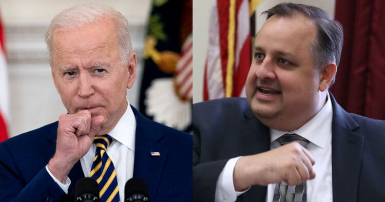 Top Obama Ethics Official Rages: Biden's Actions 'a Real F*** You' to U.S., He's a 'F***ing Failure'