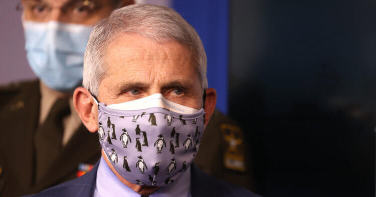 Emails Reveal Fauci Told Woman Face Masks Do Not Protect Against COVID: Report